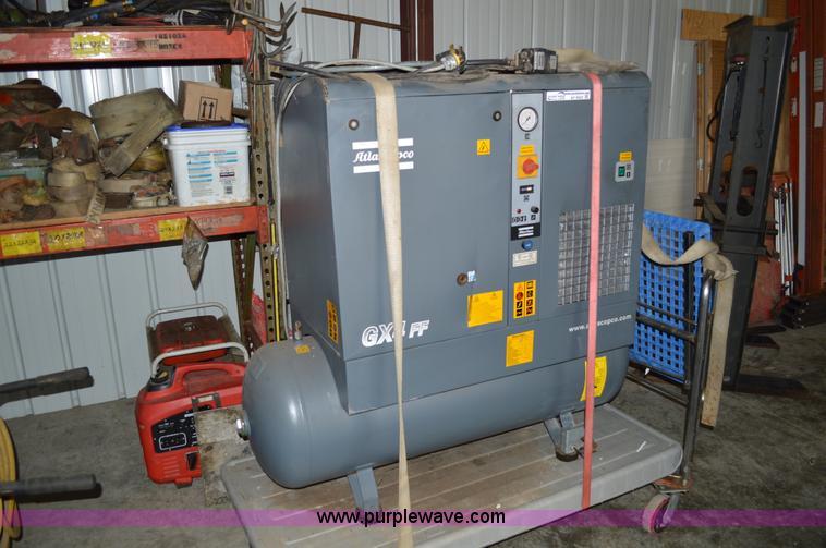 2003 Atlas Copco GX4 FI Air Compressor Item AY9423 SOLD