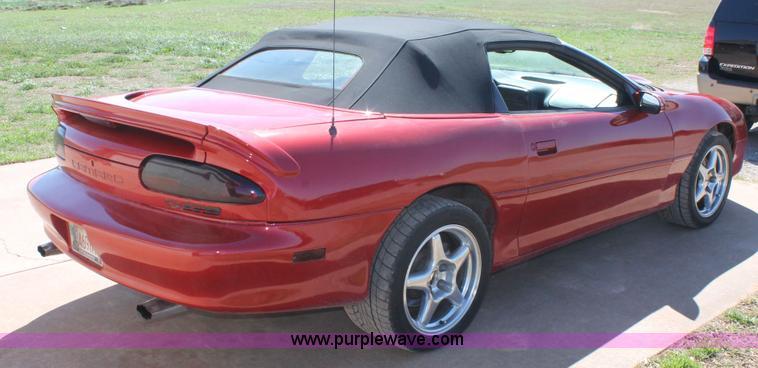 2001 Chevrolet Camaro Z28 Convertible Item H1571 Sold A