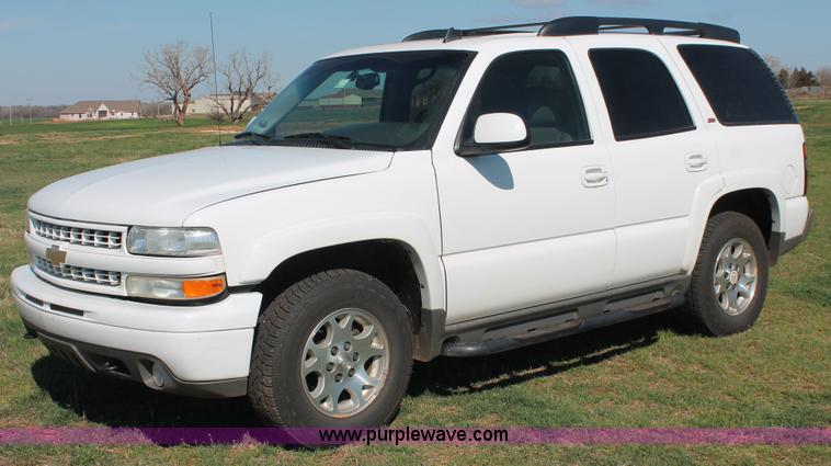 Chevrolet Tahoe Suv Item Sold April V