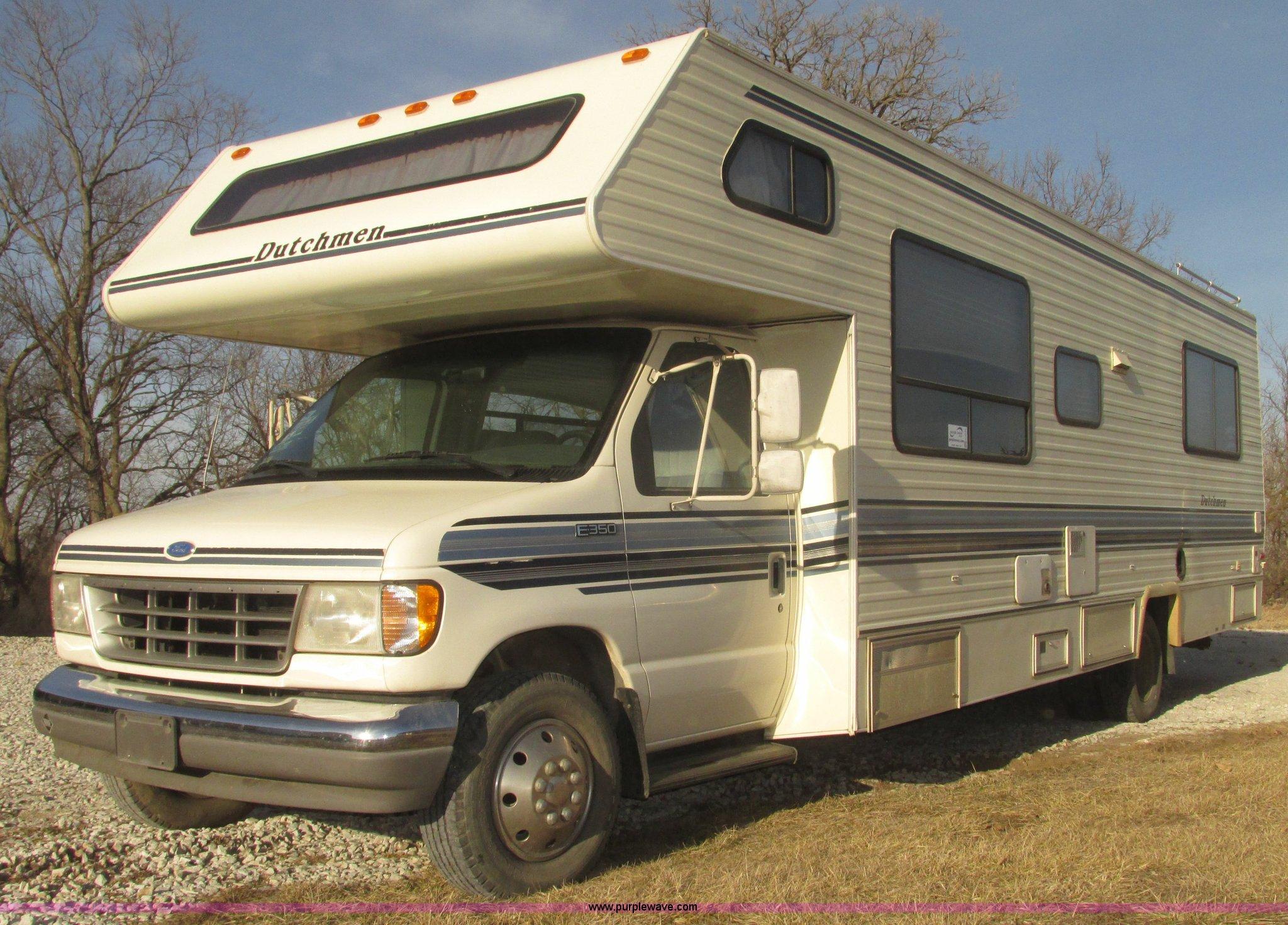 1993 ford econoline e350 dutchman 30 rv item h4735 sold rh purplewave com