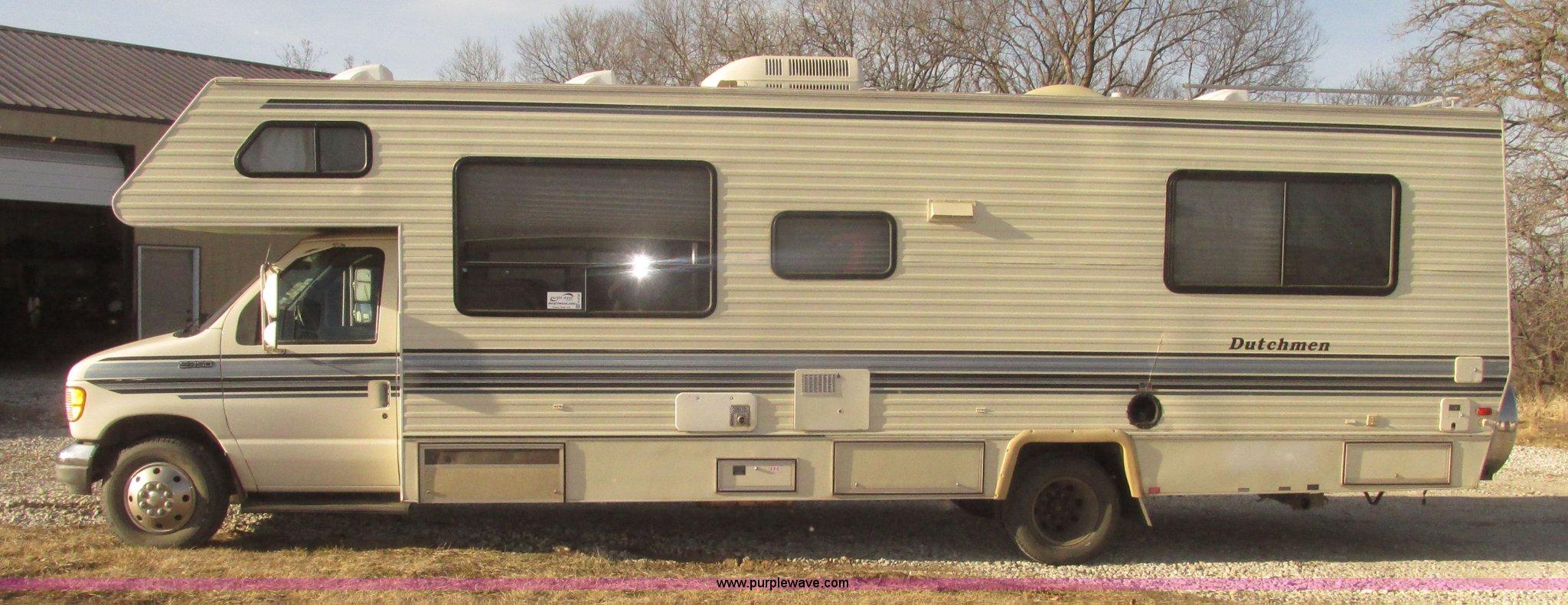 1993 Ford Econoline E350 Dutchman 30' RV | Item H4735 | SOLD... Dutchman Camper Wiring Harness on camper transformer, camper mirrors, camper strut, camper cover, camper water pump, camper seats, camper battery box, camper accessories, camper wiring cable, camper antenna, camper door handle, camper taillight wiring,