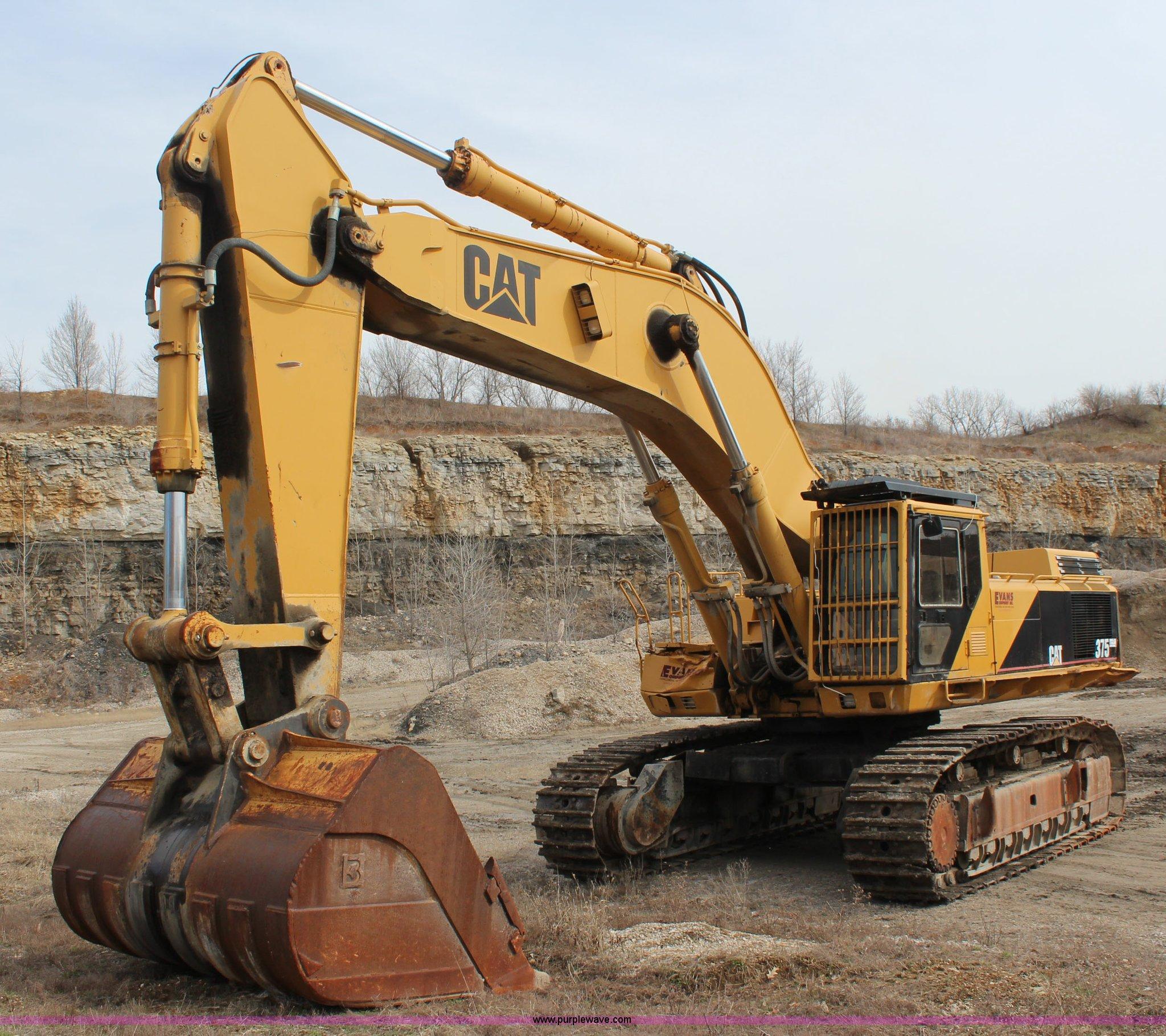 1993 Caterpillar 375 excavator | Item K7100 | SOLD! April 23