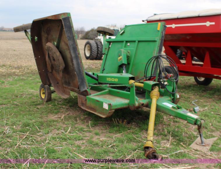 John Deere 1508 batwing mower | Item F7605 | SOLD! April 29