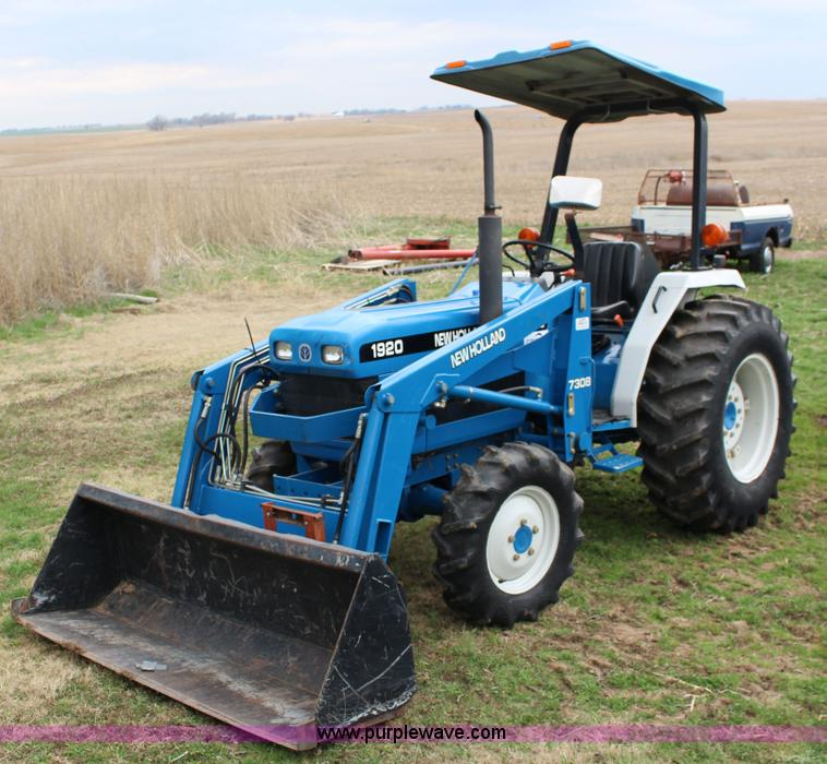 1998 New Holland 1920 Mfwd Compact Utility Tractor Item