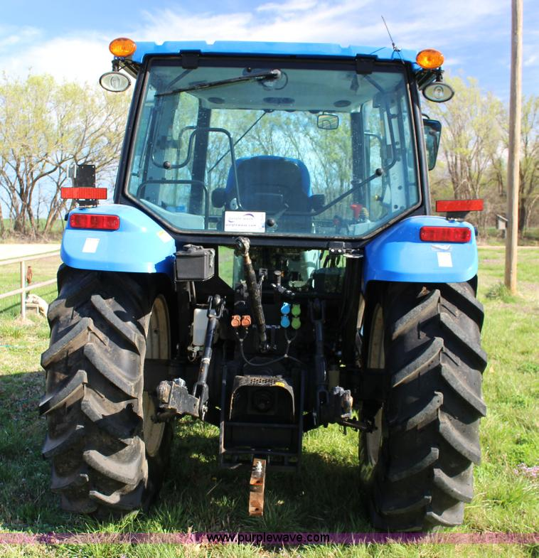 2010 New Holland T5070 tractor | Item F7639 | SOLD! April 29