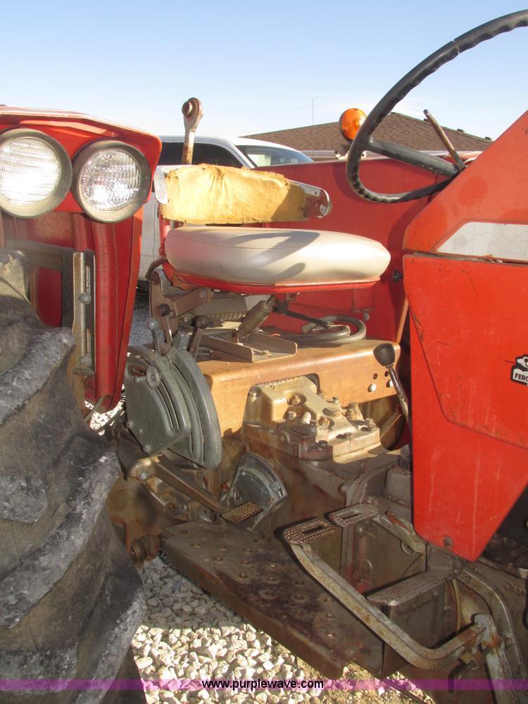 1974 Massey-Ferguson 175 row crop tractor | Item H4736 | SOL