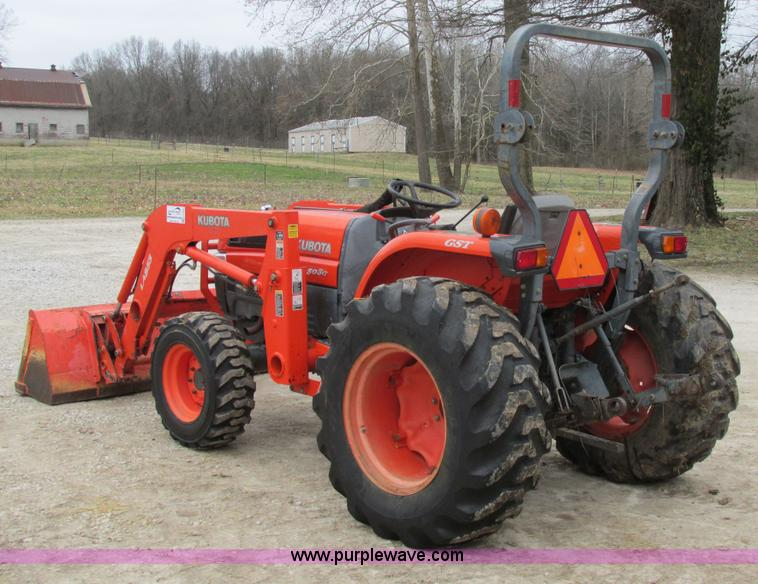 2004 Kubota L5030 MFWD tractor | Item H7504 | SOLD! April 29