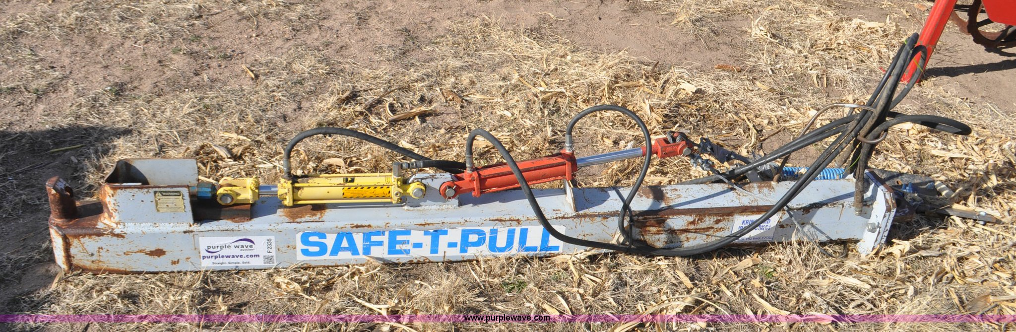 Safe T Pull Draw Bar Hitch In Julesburg Co Item F2335 Sold Purple Wave