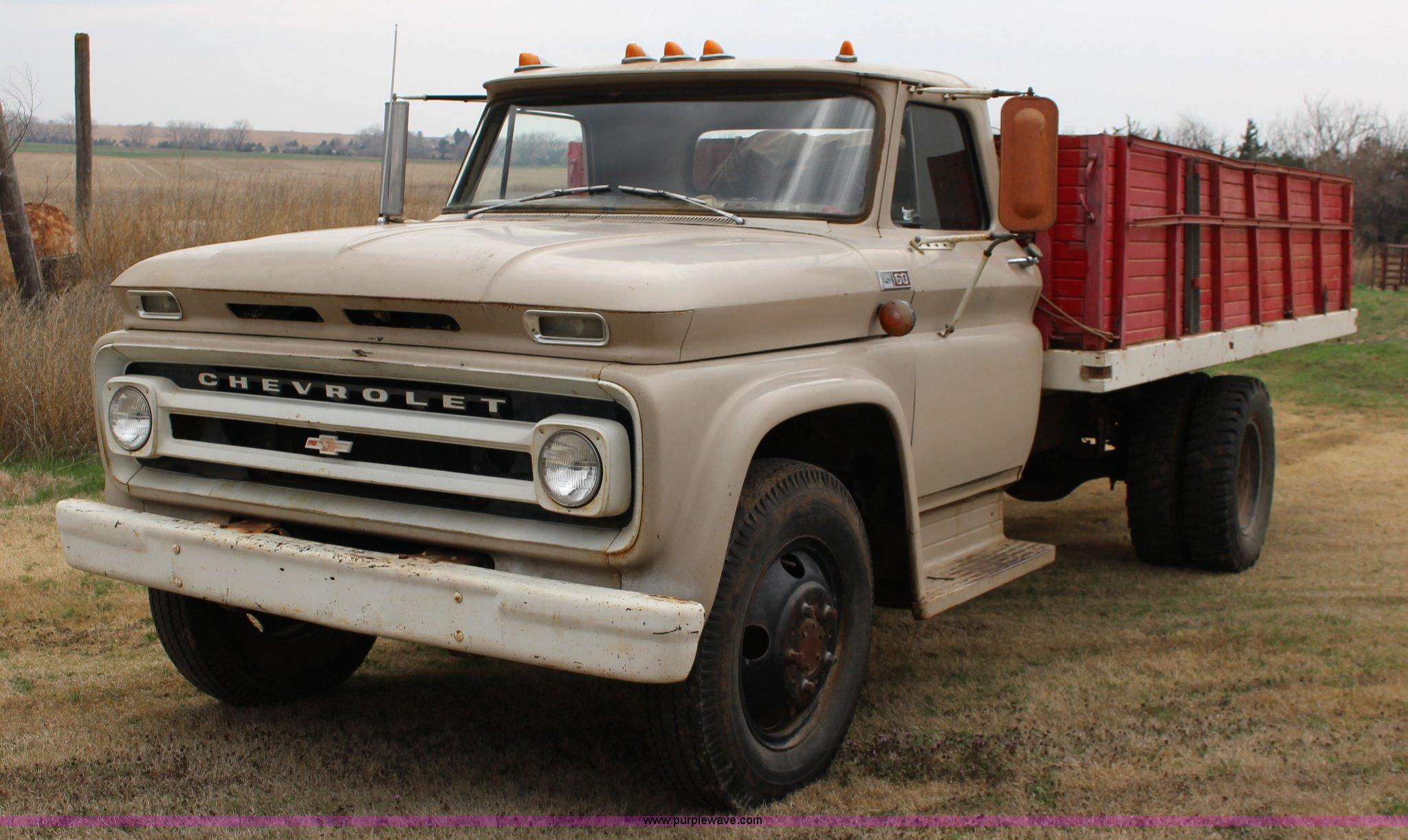 Grain Trucks For Sale >> 1965 Chevrolet C60 Grain Truck Item F7609 Sold April 29