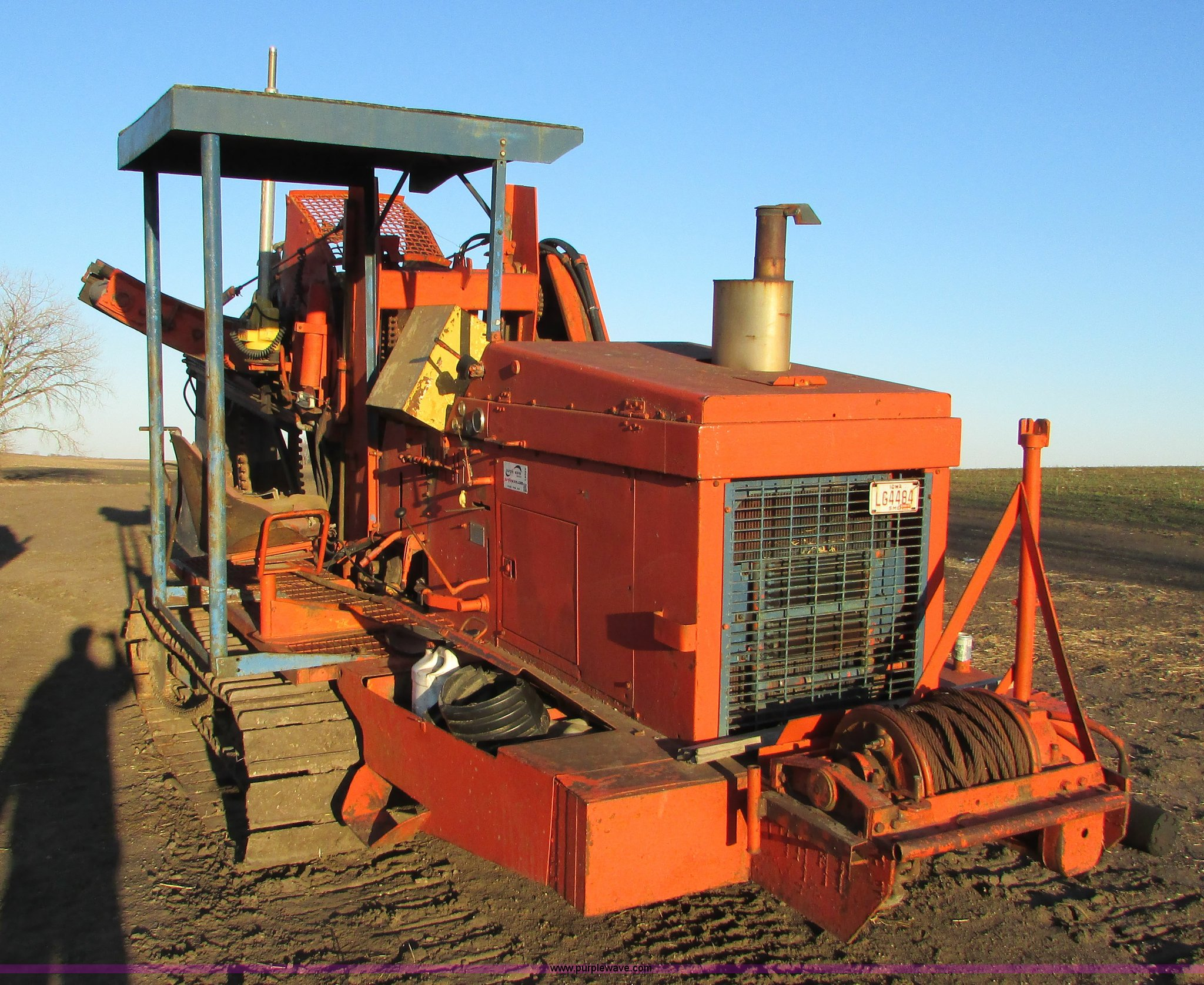Koehring 600 drainage tile wheel trencher | Item I6521 | SOL