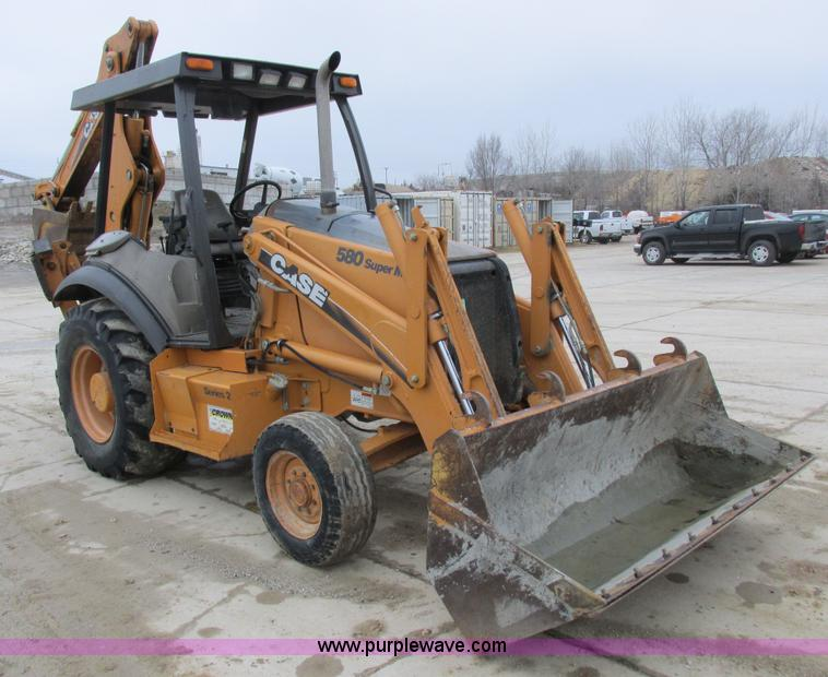 2006 Case 580 Super M backhoe | Item K2068 | SOLD! April 30