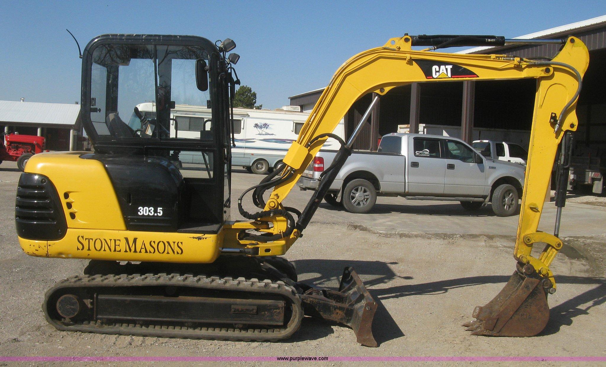 2000 Caterpillar 303 5 compact excavator | Item K2971 | SOLD