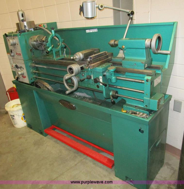Grizzly G9036 floor lathe | Item BA9340 | SOLD! May 5 Govern