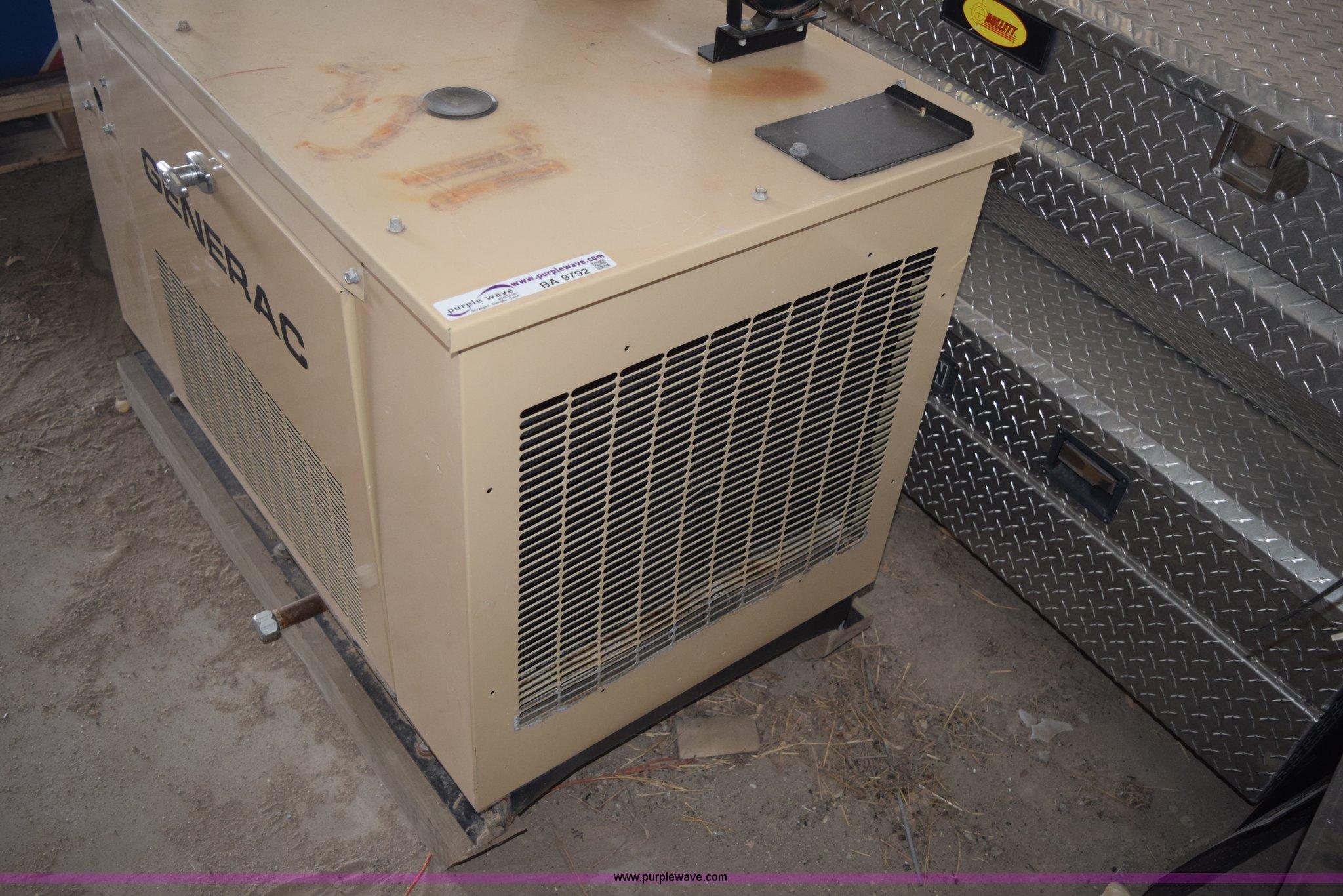 Generac natural gas generator Item BA9792