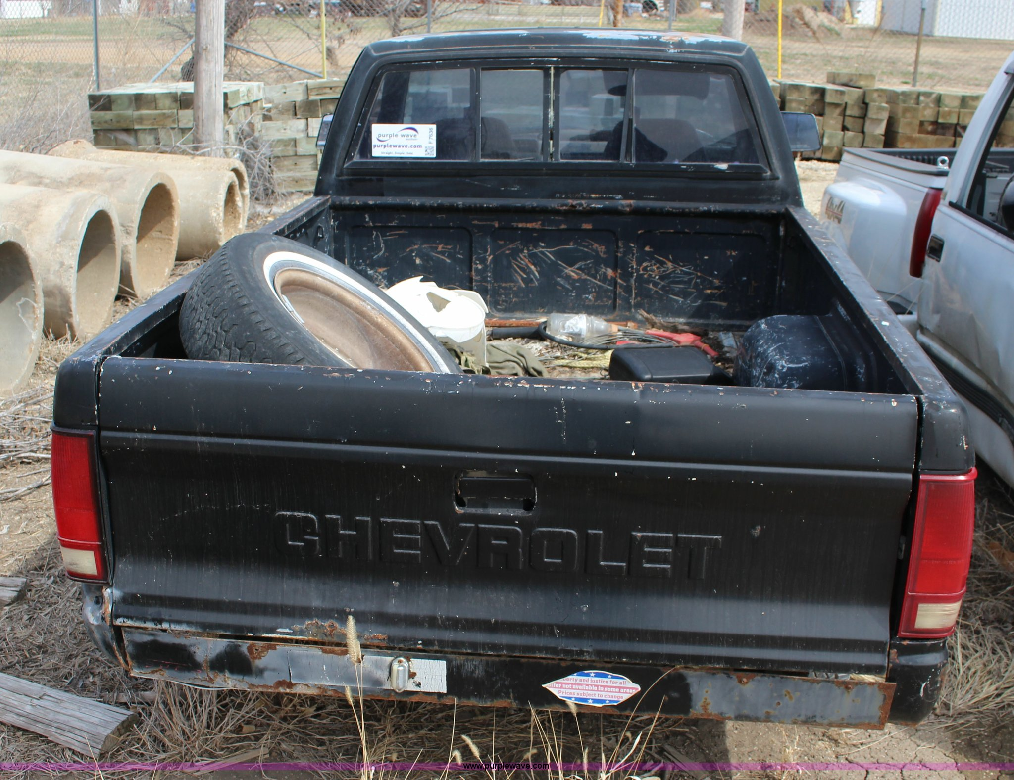 F7636D 1991 chevrolet s10 pickup truck item f7636 sold! may 5 g