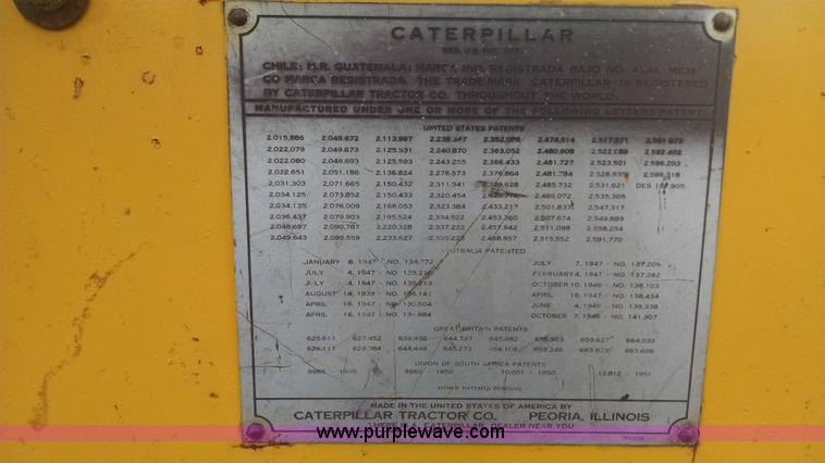 1953 Caterpillar D4 dozer | Item AY9442 | SOLD! May 6 Vehicl