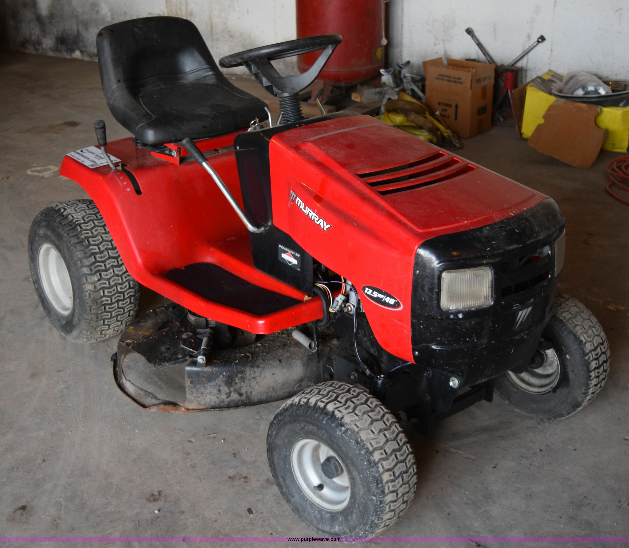 Murray Riding Lawn Mower Item K2470 Sold May 6 Vehicles