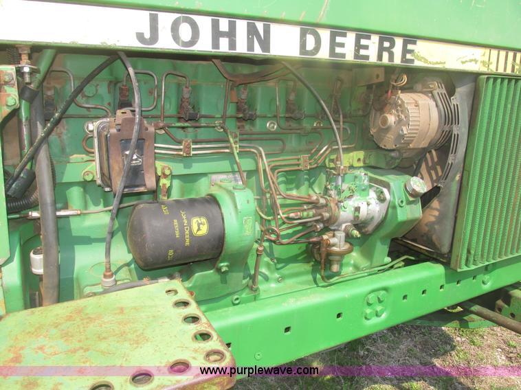 1979 john deere 4040 row crop tractor item h4677 sold! m john deere 4020 wiring harness h4677 image for item h4677 1979 john deere 4040 row crop tractor