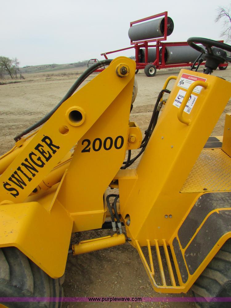 1997 Swinger 2000 wheel loader | Item I6507 | SOLD! May 13 A