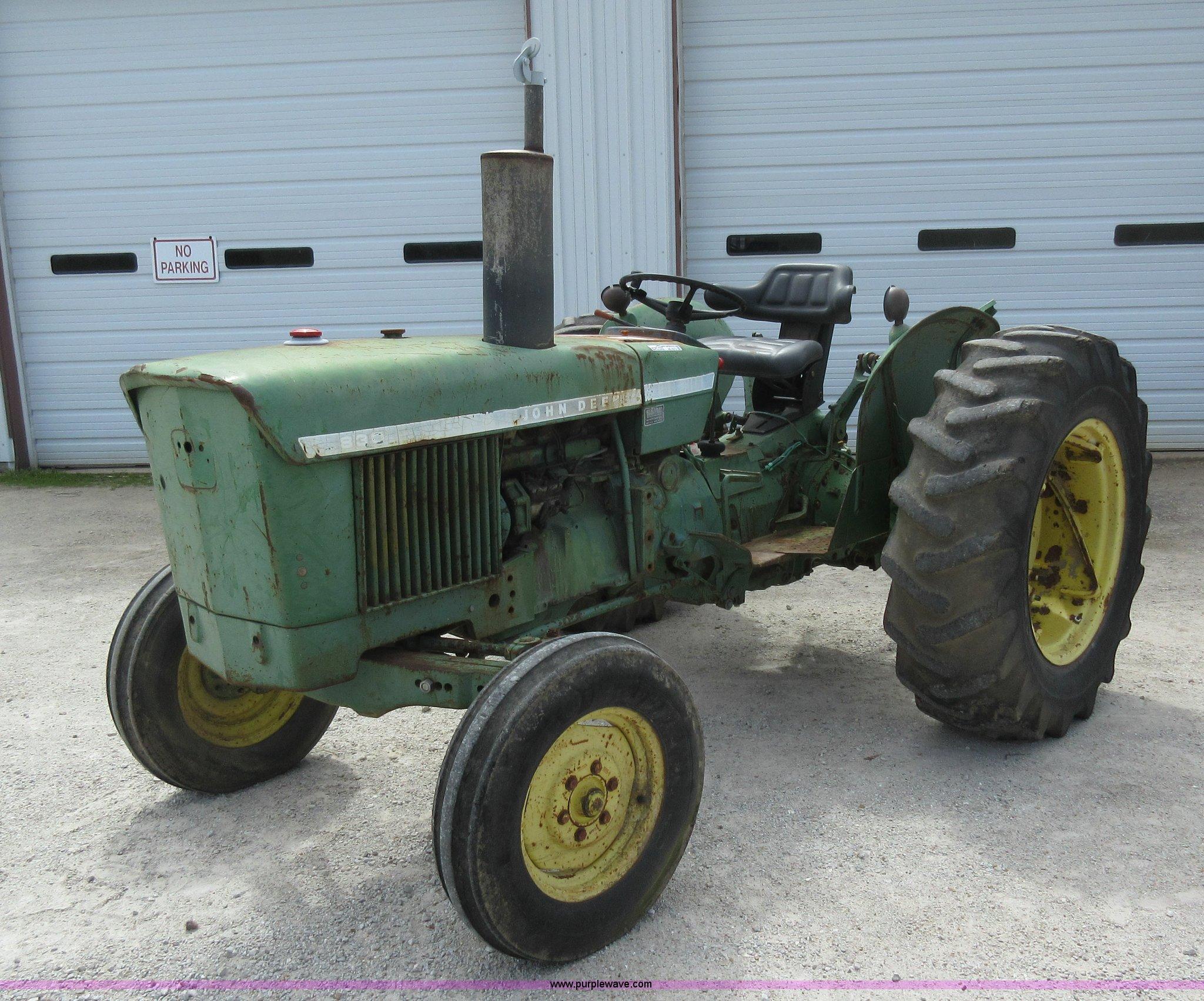 AC9273 image for item AC9273 John Deere 830 tractor