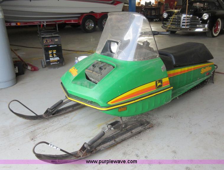 1977 John Deere Spitfire Snowmobile Item G6544 Sold May