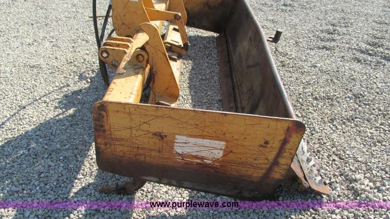 Gannon 4X2 box blade with ripper | Item I3025 | SOLD! May 20