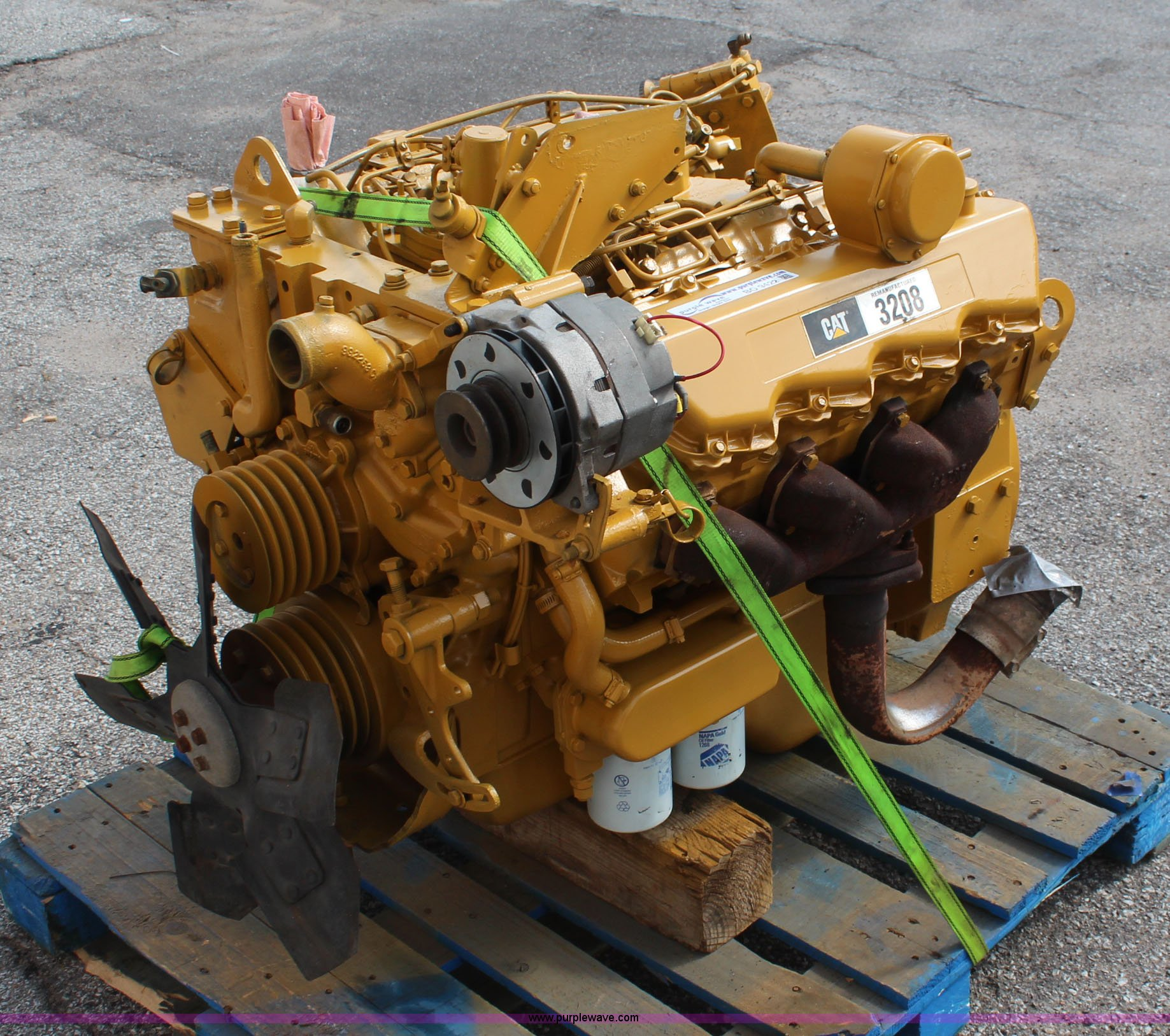 Cat Engine Diagram V8 Another Blog About Wiring Caterpillar 3208 Diesel Item Bo9422 Sold