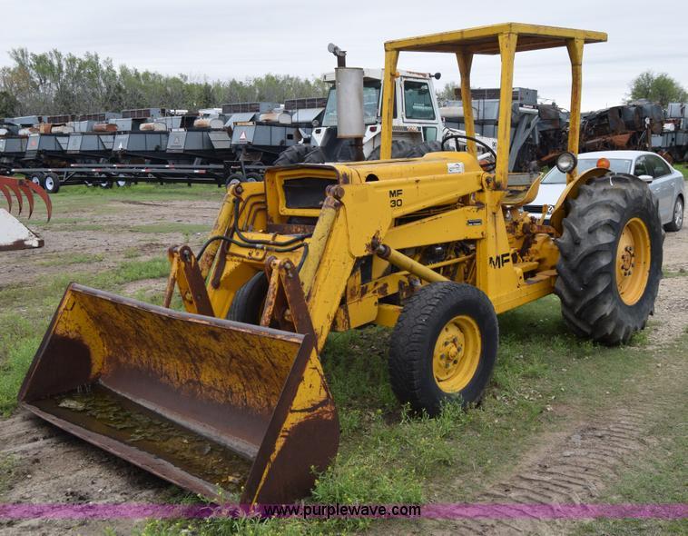 Massey Ferguson Canopy Top : Massey ferguson mf tractor item e sold may