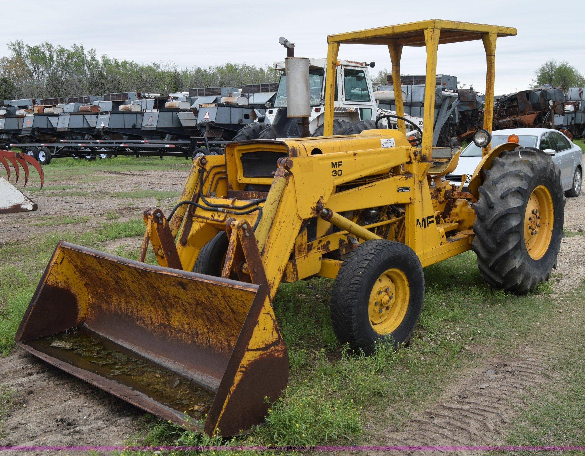 Massey Ferguson Mf30 Tractor In Buhler Ks Item E6371 Sold Purple Wave