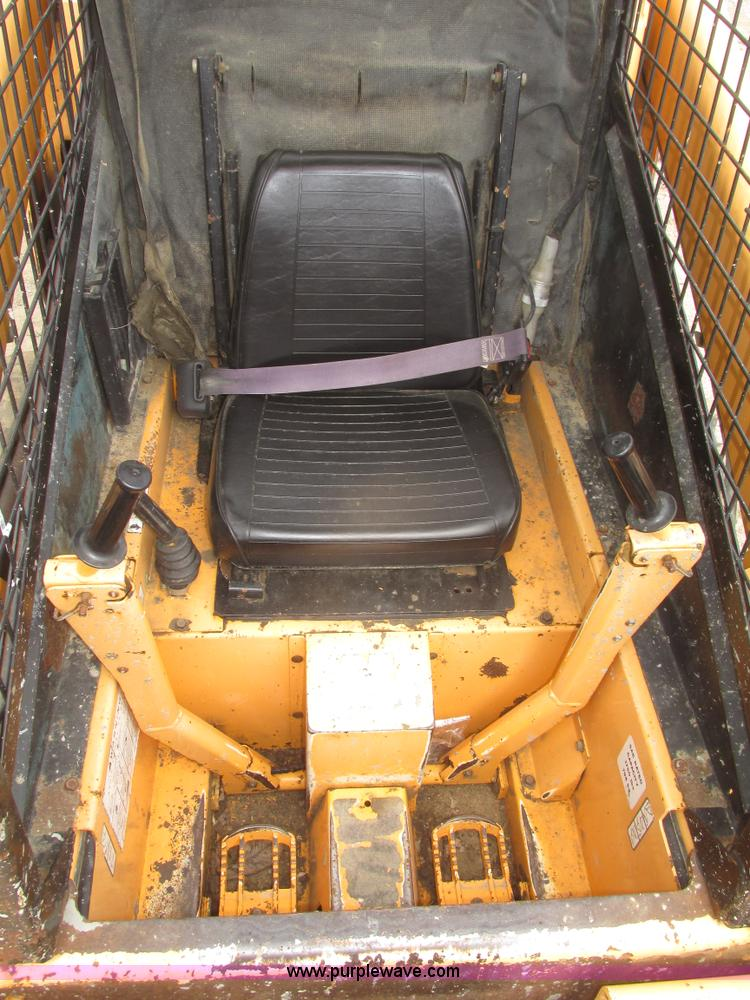 1996 Mustang 2060 skid steer | Item H4661 | SOLD! May 28 Con