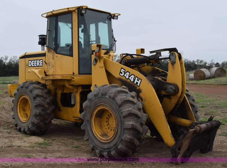 h5130 image for item h5130 1998 john deere 544h wheel loader