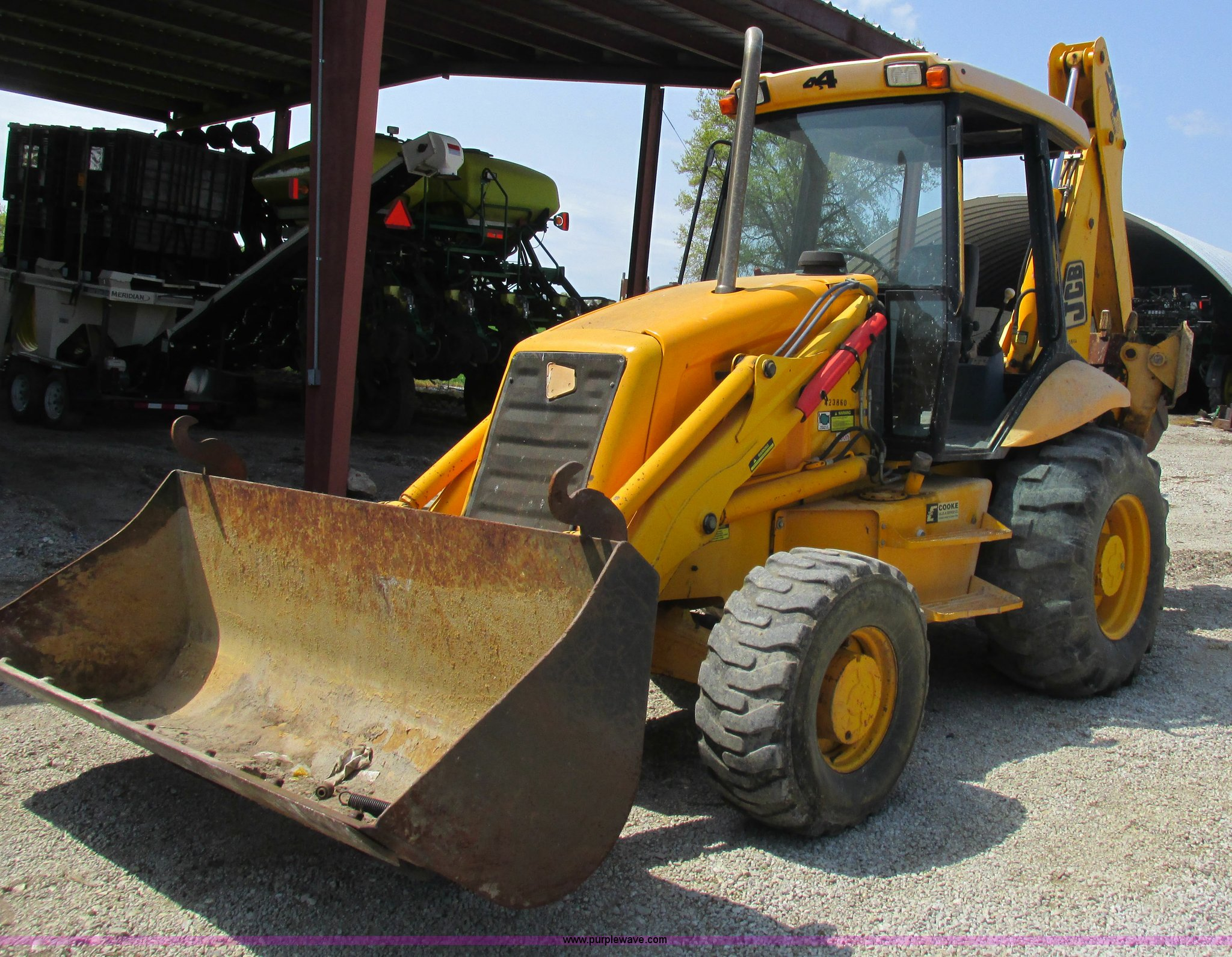 2002 JCB 214 backhoe | Item K2110 | SOLD! May 28 Constructio