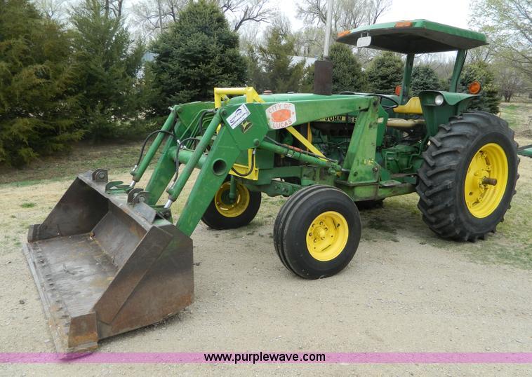 John Deere 2440 : John deere tractor item k sold june
