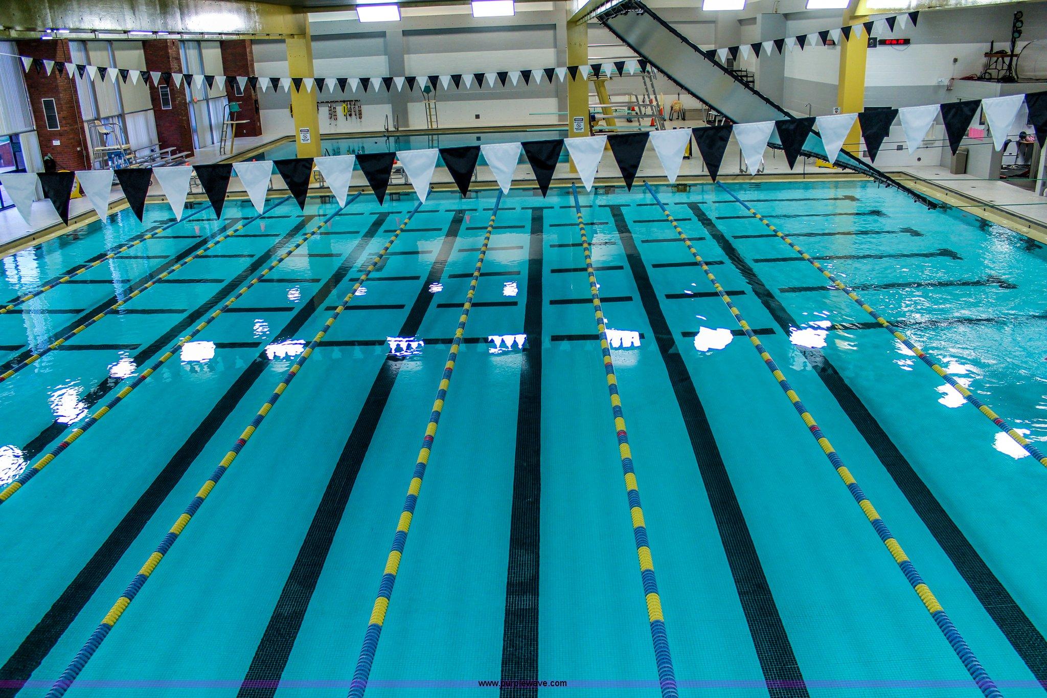 8) swimming pool lane lines | Item D1493 | 6-2-2015