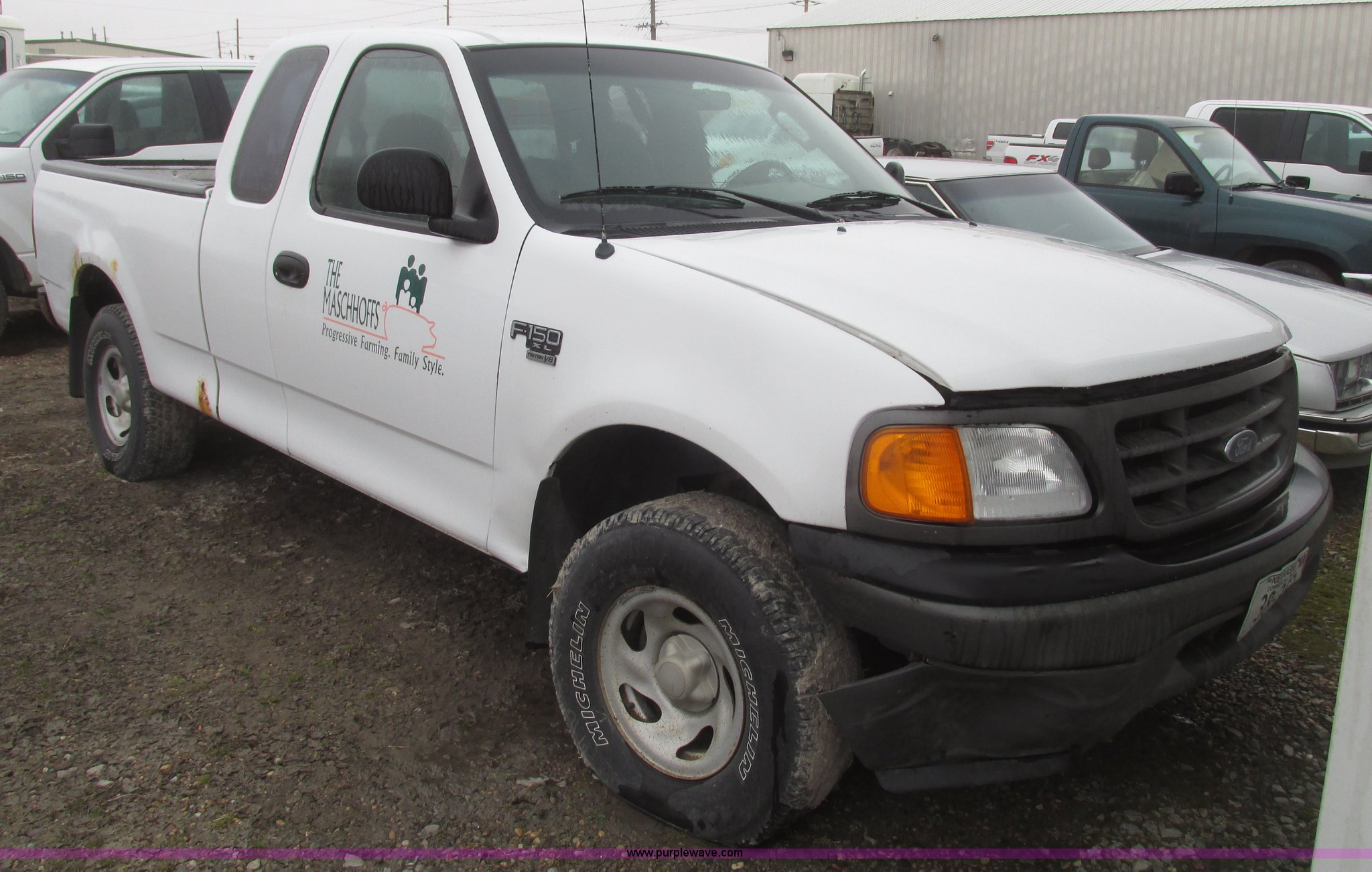 2004 Ford F150 Xl Supercab Pickup Truck Item H4701 Sold F 150 Image For