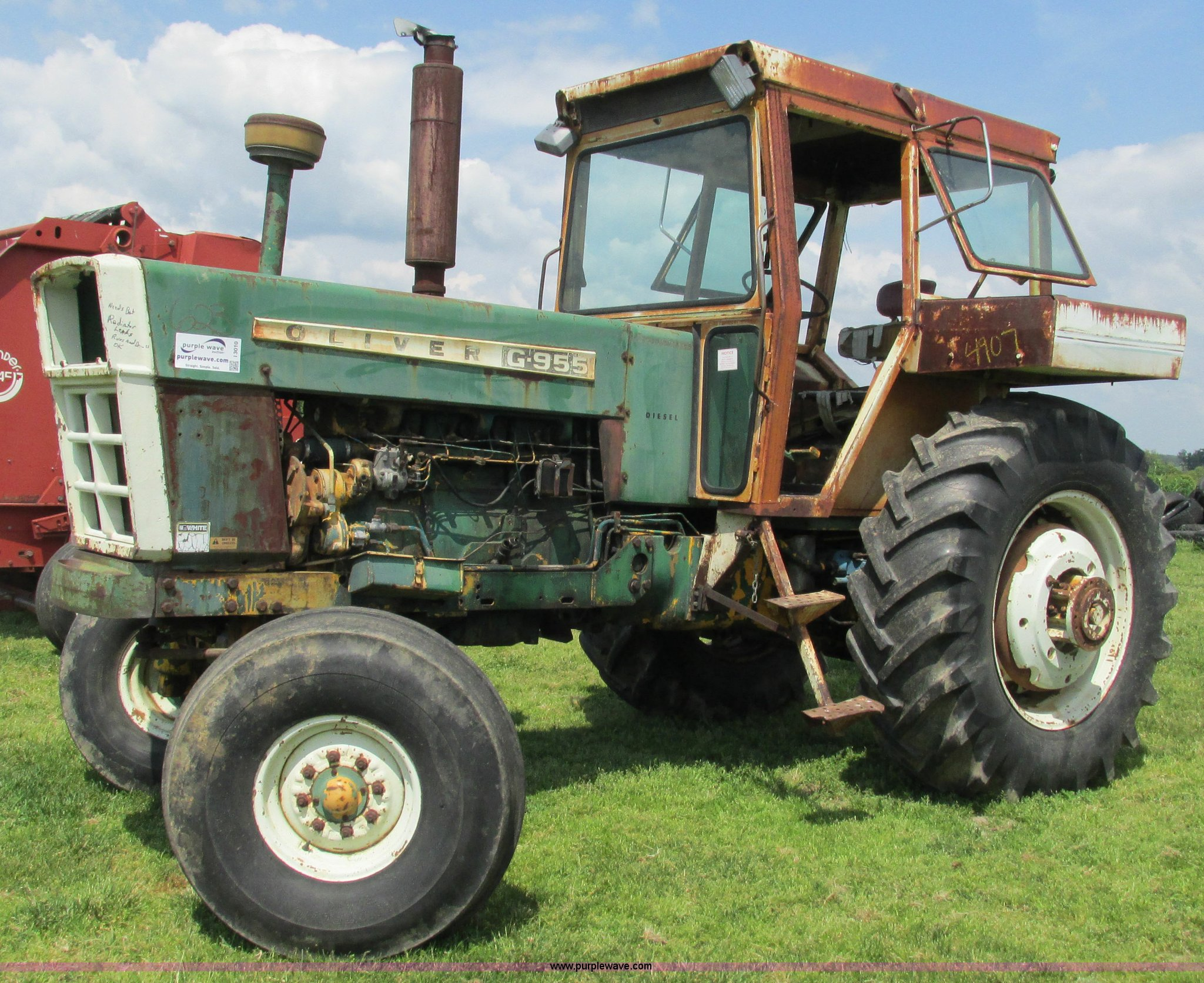 Oliver g955 22124 tractor item i3010 sold june 3 - Craigslist farm and garden minneapolis ...