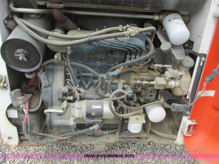 2000 Bobcat 753 skid steer | Item A8801 | SOLD! June 10 Ag E
