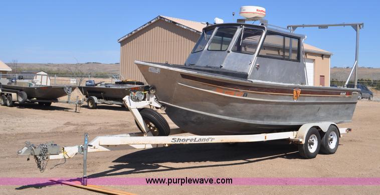 Almar Sounder Jet Boat Item F SOLD June - Decals for boat trailersshorelander