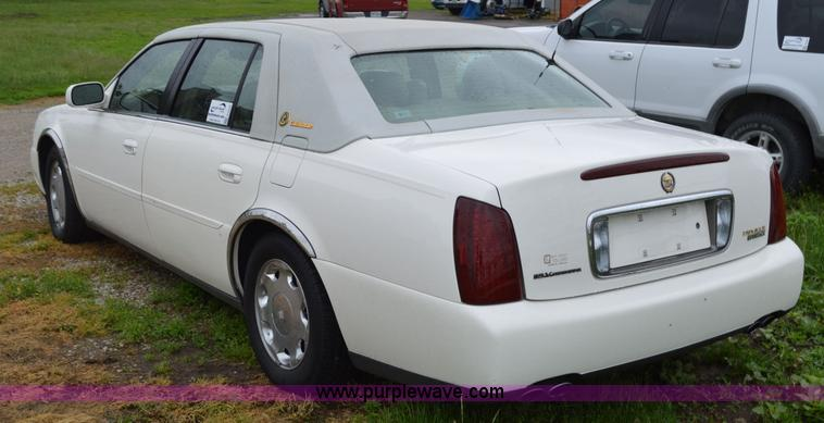 2000 Cadillac DeVille | Item G3506 | SOLD! June 17 Vehicles