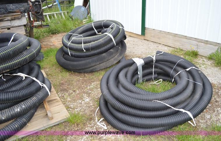 Assorted drain tile pipe | Item G3577 | SOLD! June 17 Vehicl