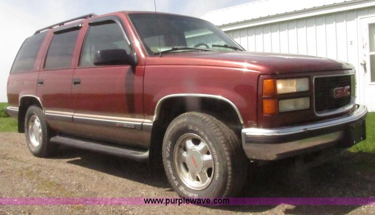 1998 gmc yukon sle suv in sanborn ia item h4638 sold purple wave 1998 gmc yukon sle suv in sanborn ia