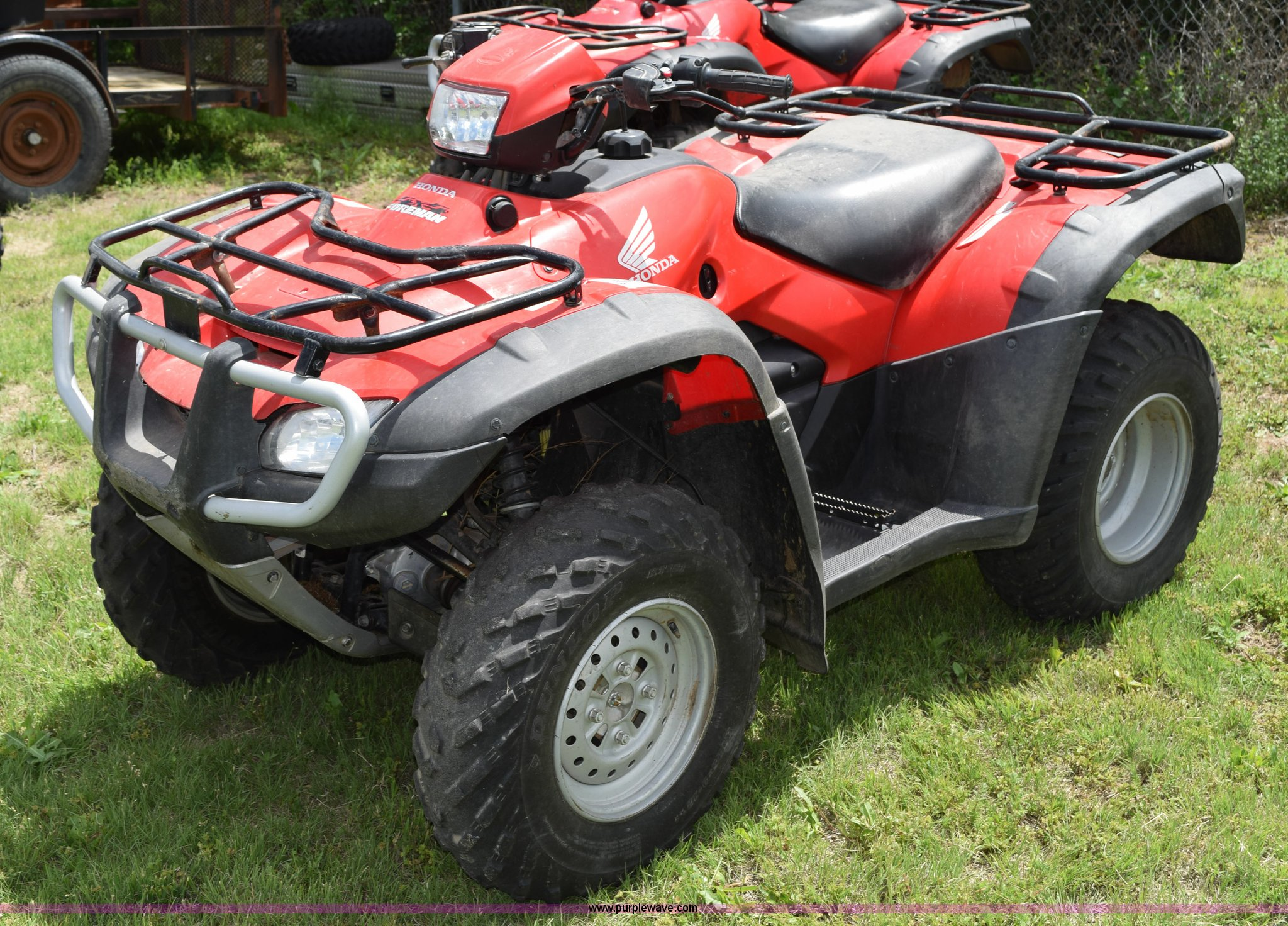 2011 Honda Foreman 500 Atv Item H5086 Sold June 17 Vehi