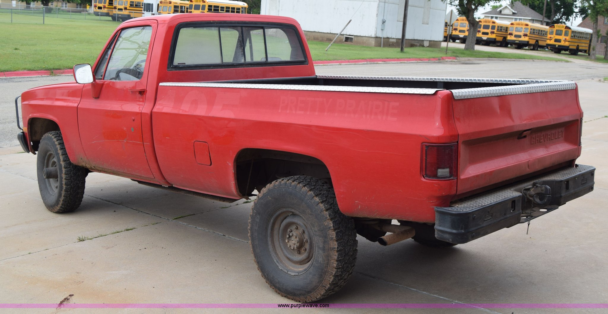 1986 Chevrolet D30 Military Postal Unit pickup truck | Item