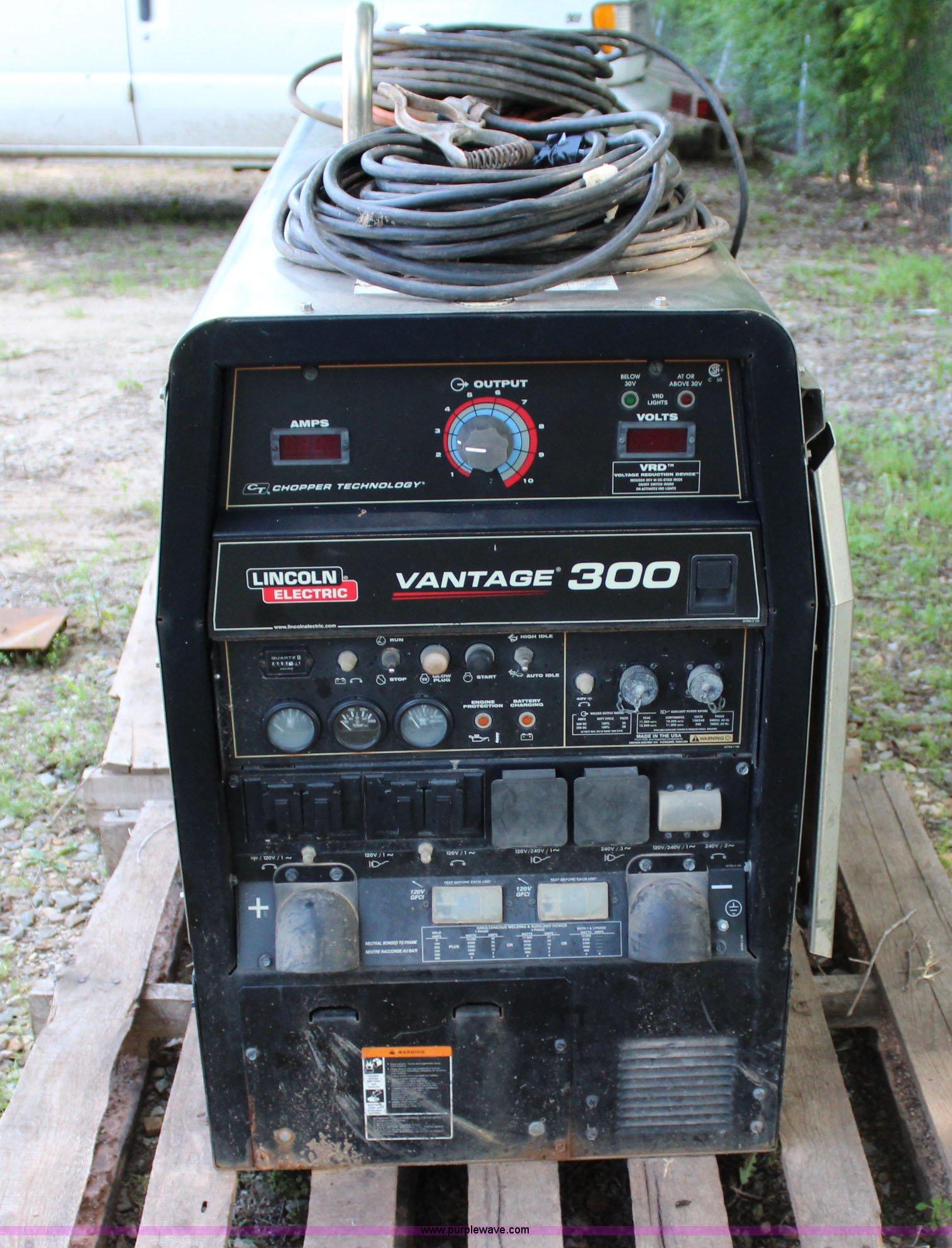 2012 Lincoln Vantage 300 welder   Item I1652   SOLD! June 25
