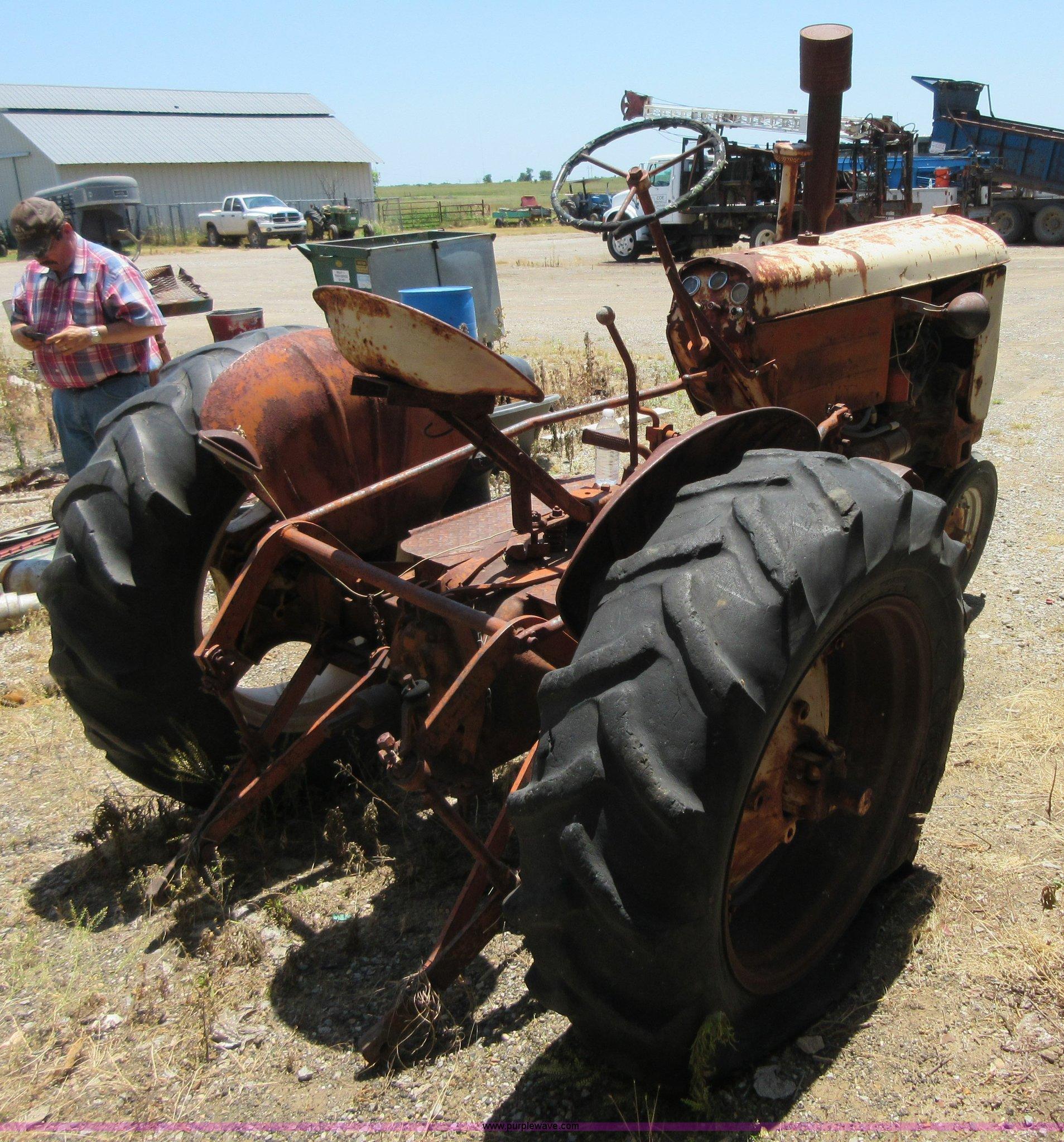 Case vac Tractor Manual