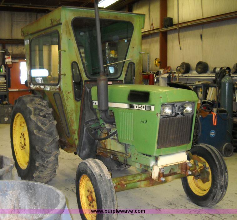 John Deere 1050 Tractor Seat : John deere tractor item d sold july