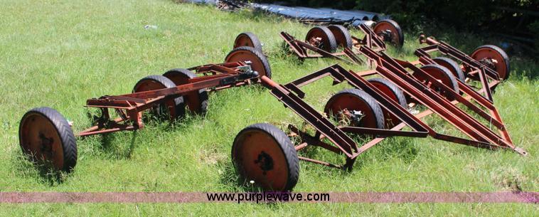 Jacobsen fairway gang unit reel mower | Item F7878 | SOLD! J