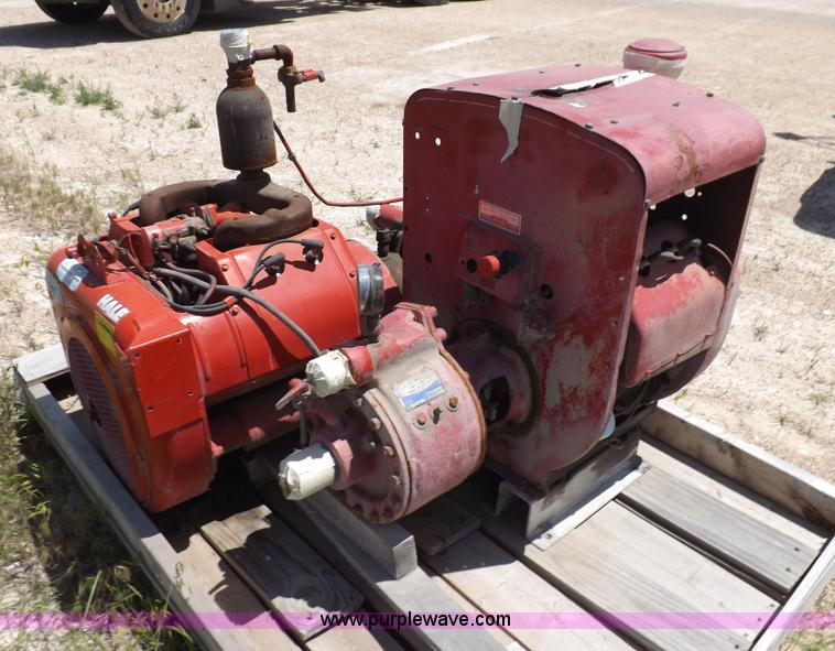2 Wisconsin Engine And Fire Pumps Item K3997 SOLD Jul