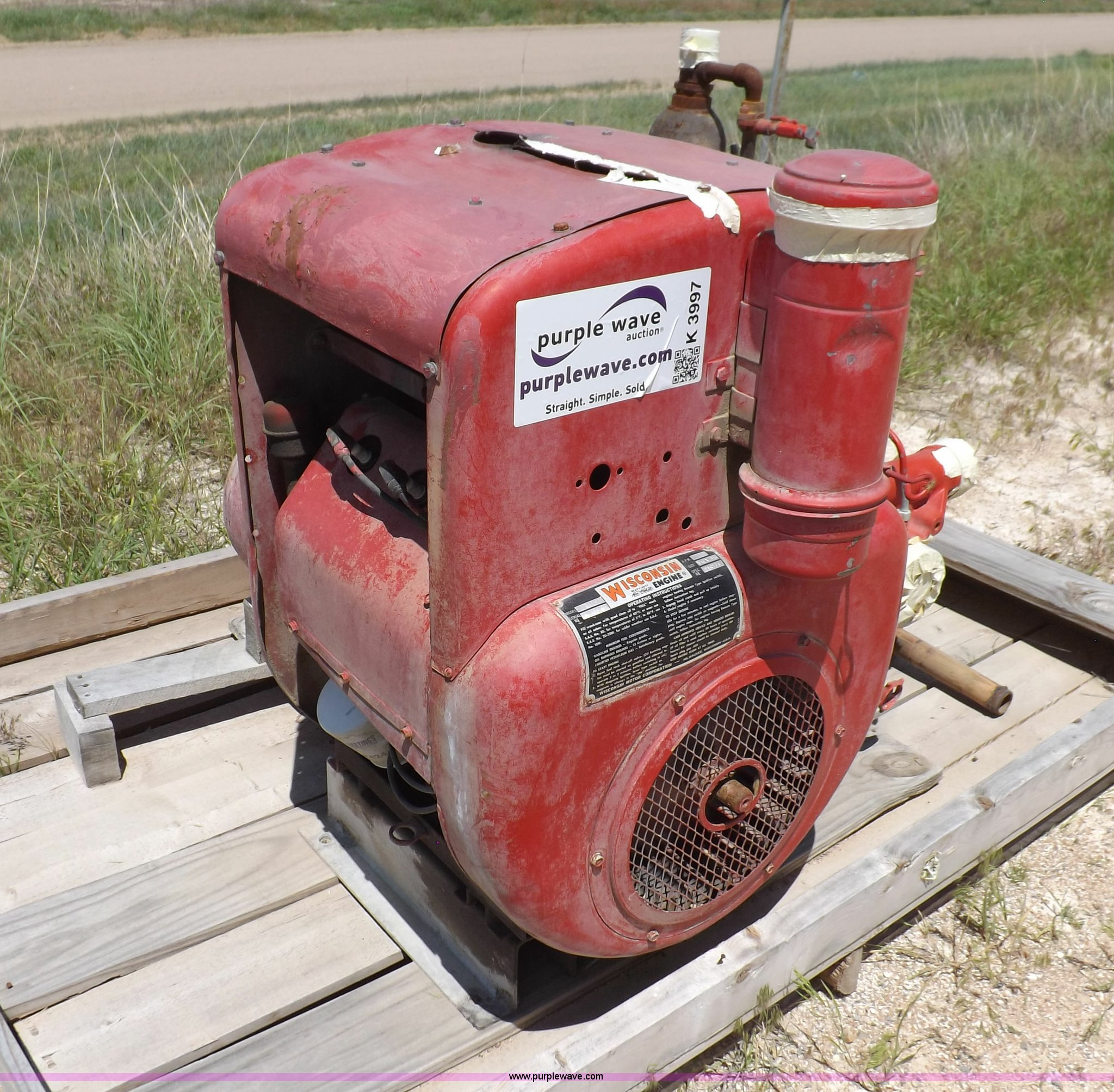2) Wisconsin engine and fire pumps | Item K3997 | SOLD! Jul