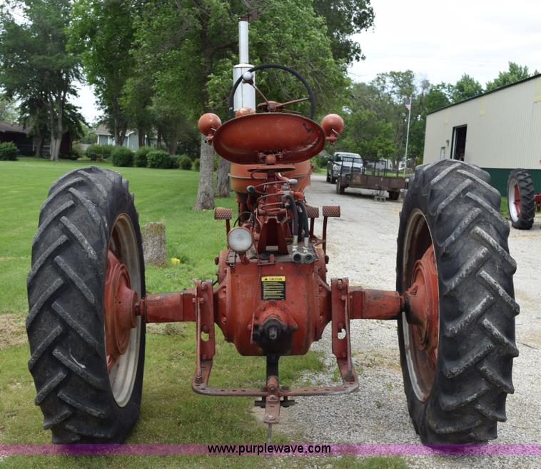1951 Farmall M tractor | Item H5051 | SOLD! July 15 Ag Equip